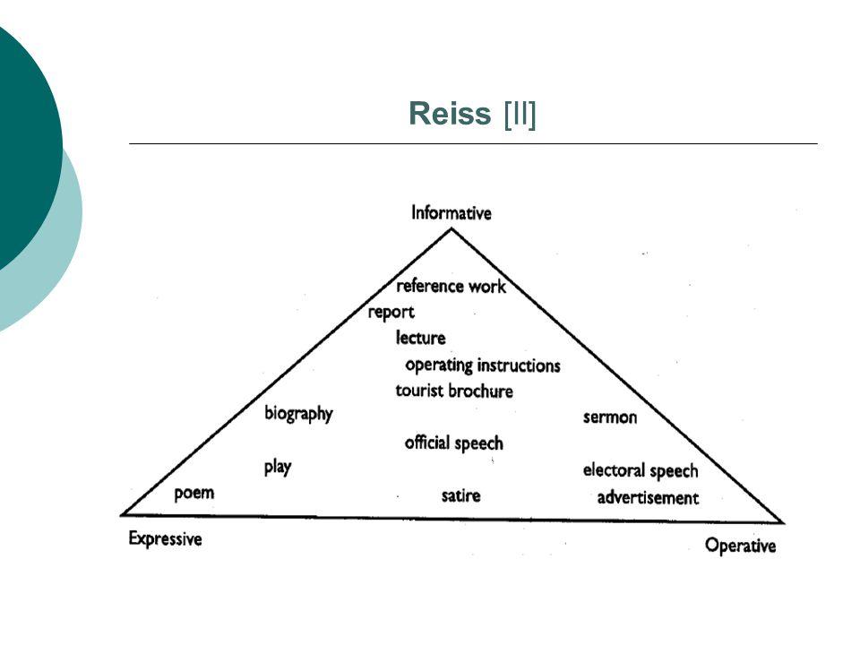 Reiss [II]
